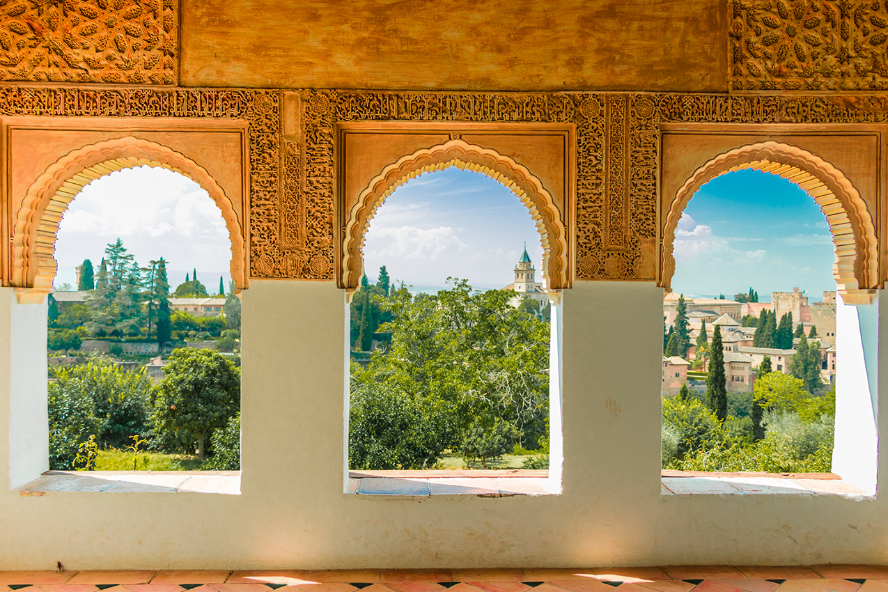 Granada & The Alhambra Palace Guided Tour | Iberian Mobility