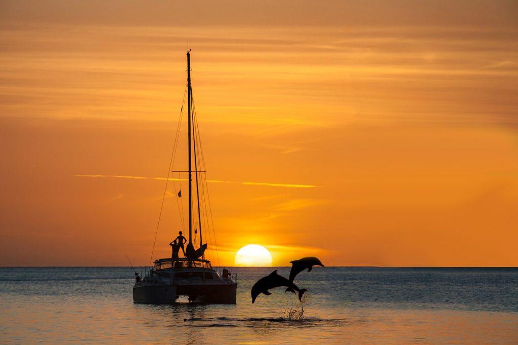 día en el mar
